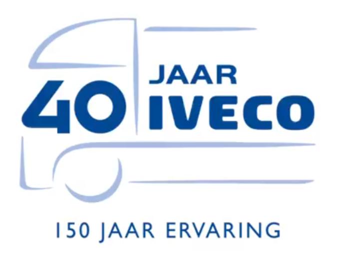 IVECO wordt 40 dit jaar!