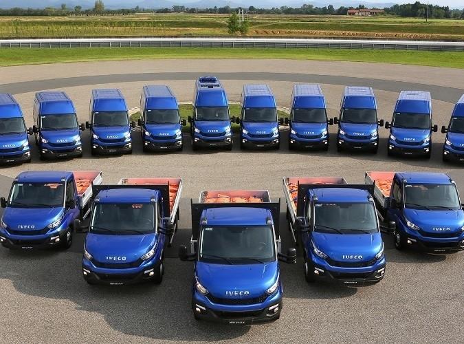 Introductie van de New Daily tijdens het Nazomerfeest bij Kwakernaak Bedrijfswagens.