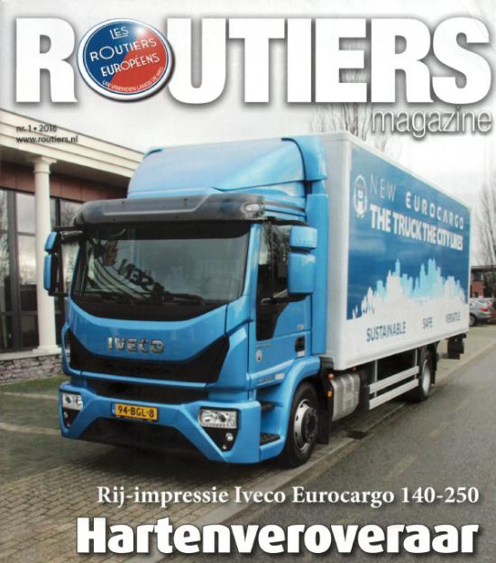 Routiers Magazine rij-impressie Eurocargo