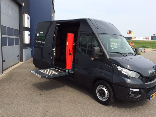 Nieuwe bedrijfswagen voor Teeuwen Infra