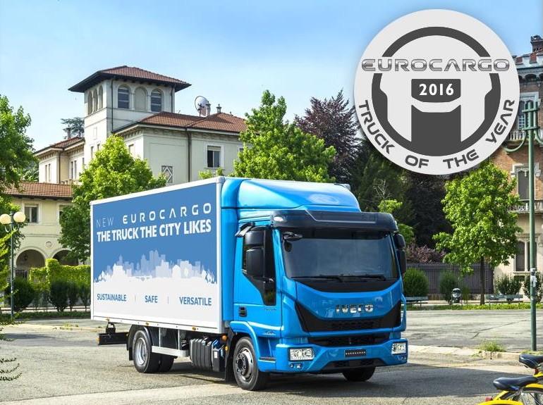 New Eurocargo bekroond tot 'International Truck of the Year 2016'