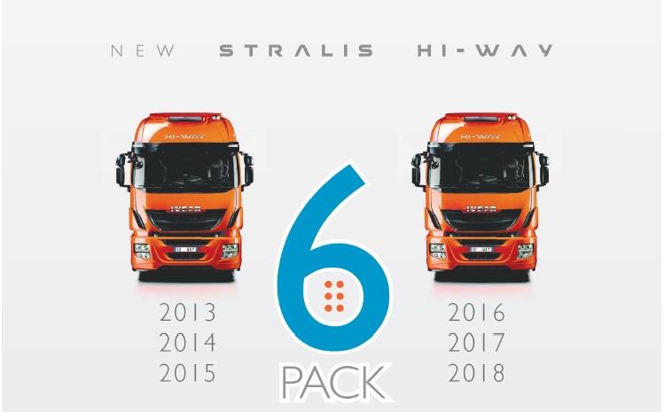 Stralis Hi-Way 6 pack: 6 jaar zorgeloos rijden tegen hetzelfde lage tarief!