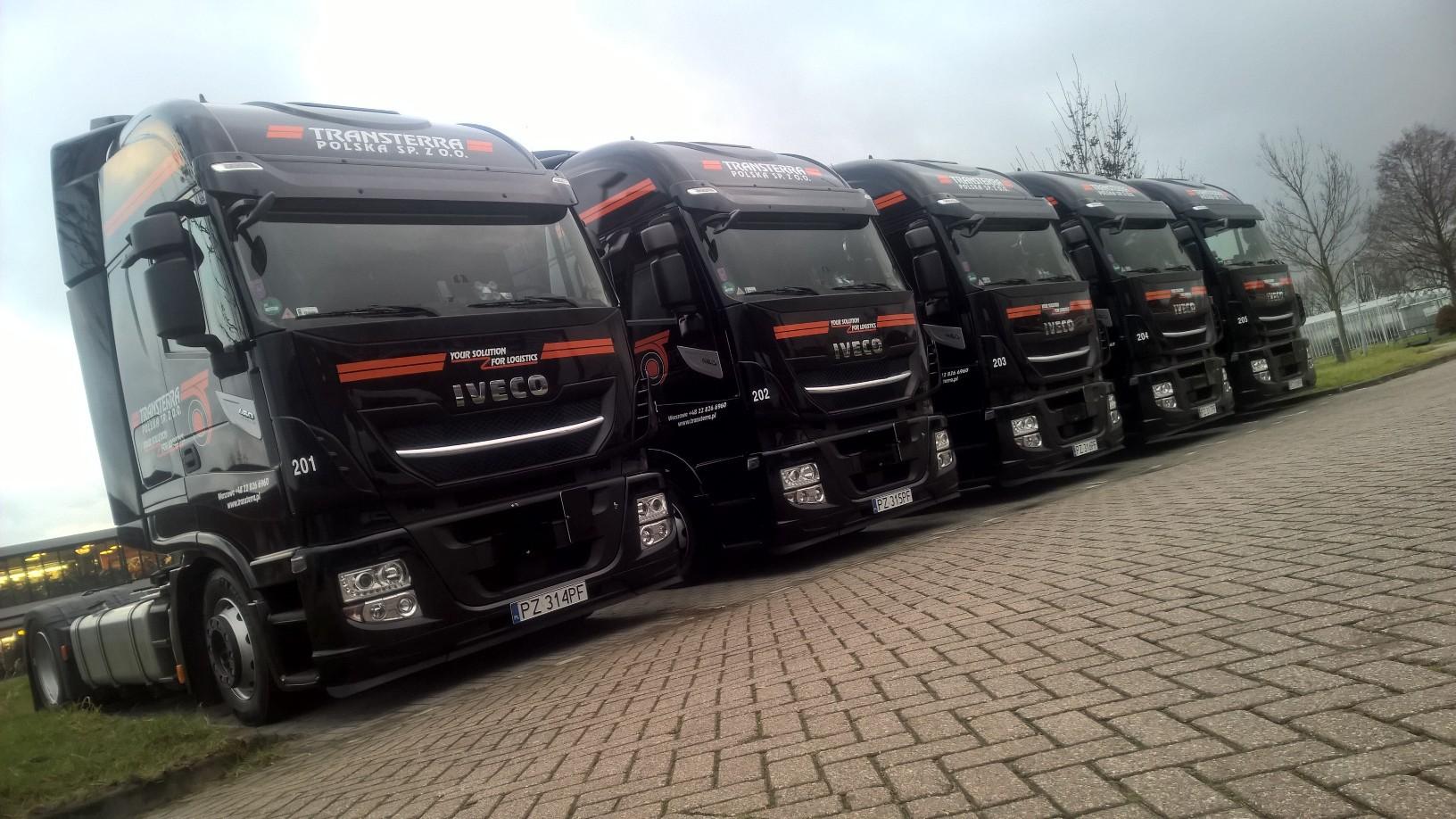 5 nieuwe trucks voor Transterra